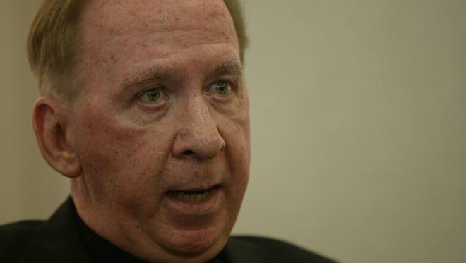 Bishop Thomas J. O'Brien, in a 2003 Arizona Republic photo.