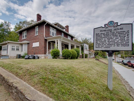 Hubbard House, 1109 First Ave., Nashville