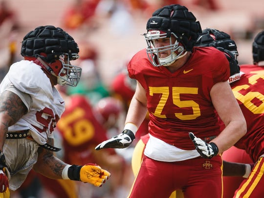 Brian Powers/The Register Iowa State redshirt freshman