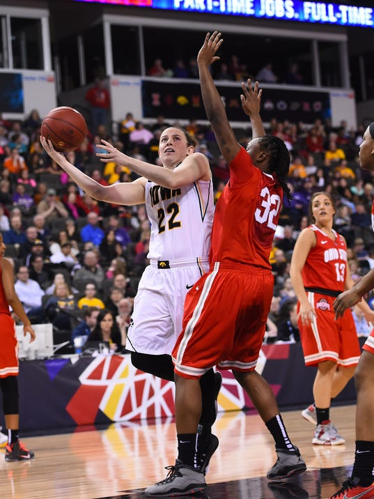NCAA Womens Basketball: Big Ten Tournament-Iowa vs Ohio State