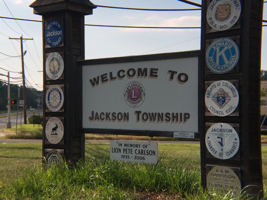 Jackson Township welcome sign