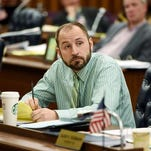 Former Dutchess County Legislator Michael Kelsey participated in an environmental committee meeting in January of 2015.