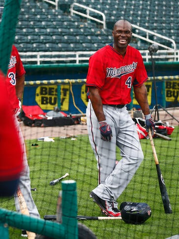 Torii Hunter says he hopes to one day be general manager