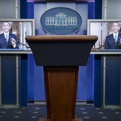 President Bush delivers a speech on immigration broadcast on television from the Oval Office, May 15, 2006