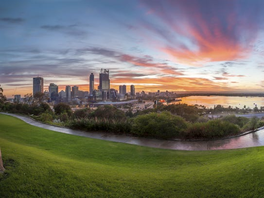 Perth, in Western Australia, is the farthest-away city from Knoxville on Earth.