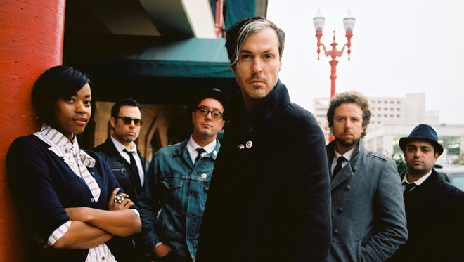 """Fitz and the Tantrums are seen in a 2011 handout photo. The band recorded a tale of holiday infidelity, """"Santa Stole My Lady,"""" just one year earlier."""