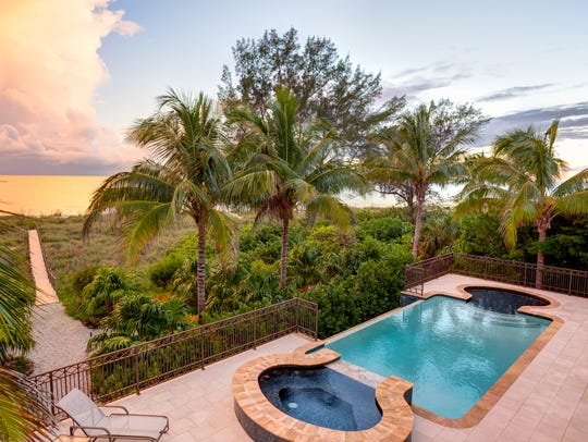 This beachfront home on West Gulf Drive on Sanibel Island was the most expensive home sold in 2017 in Lee County.