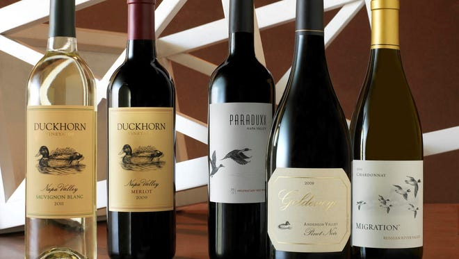 Duckhorn wines will be served at the 5-course dinner at The Park Steakhouse