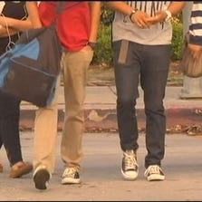Local gang activity is increasing and gang members are targeting younger recruits.