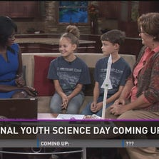 WFMY News 2's Faith Abubey talks with guests about the upcoming 4-H National Youth Science Day.