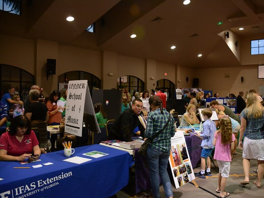The Christian Home Educators Association of Collier County held their annual Extracurricular Expo on Monday at Center Point Community Church.