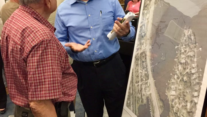 Palm Bay officials collect opinions on proposed pier at the mouth of Turkey Creek