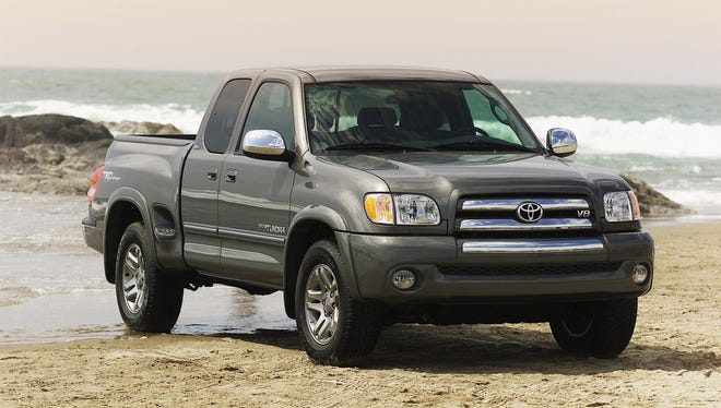 Toyota's full-size truck, the 2003 Tundra.