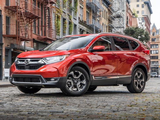 The Honda CR-V was named the 2018 SUV of the Year by