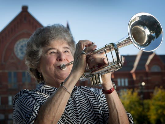 """""""It could not have been a more powerful example of the statement that was made during the war about being unified and the power of unity.""""  – Marie Speziale, retired trumpeter of the Cincinnati Symphony Orchestra and the first female trumpeter to join a major orchestra, on how difficult the music is for the three trumpets to be in unison and how that makes it one of the most powerful elements in all of music."""