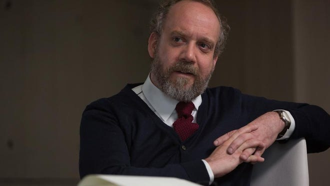 """In """"Morgan,"""" it is up to Dr. Alan Shapiro (Paul Giamatti) to determine whether Morgan is capable of feelings."""