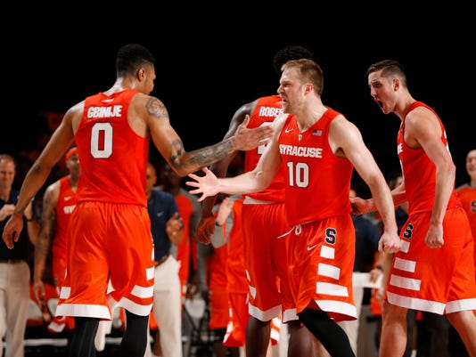 NCAA Basketball: Battle 4 Atlantis-Syracuse vs Connecticut