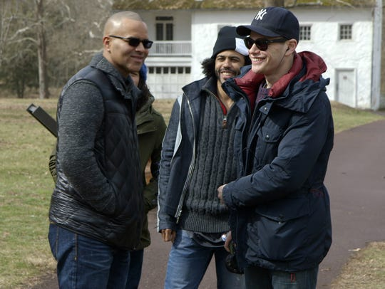 Christopher Jackson, Daveed Diggs, and director Alex