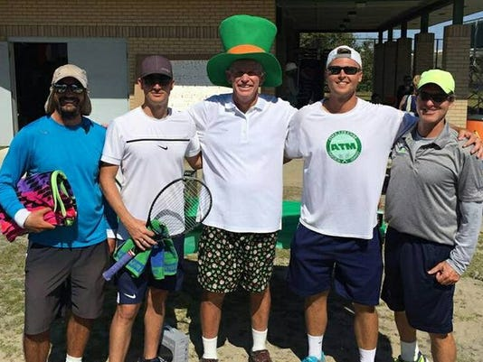 St. Patty's Tennis Winners