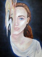 """Smudge Symmetry,"" by Kiel High School senior Grace"