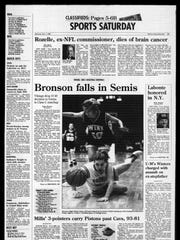Battle Creek Sports History: Week of Dec. 8, 1996