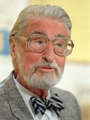The late American author, artist and publisher Theodor