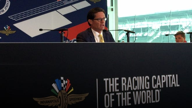Indianapolis Motor Speedway President Doug Boles spoke to the media May 24 about heightened security concerns and a possibility of Vice President Mike Pence attending the Indy 500 2017.