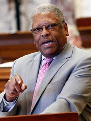 Senate Highways and Transportation Committee Chairman Willie Simmons, D-Cleveland.