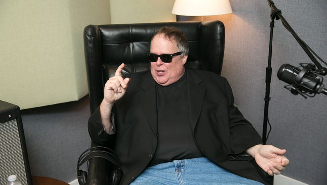 Radio talkshow host Tom Leykis, photographed at TuneInStudios in Venice Beach, California.