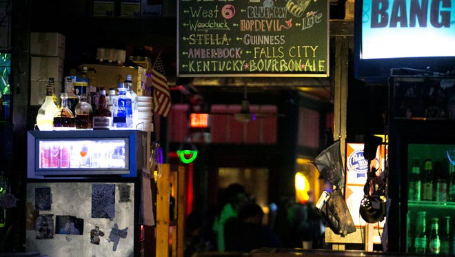 Cahoots, a bar on Bardstown Road, is seen in Louisville. Sep. 3, 2015.