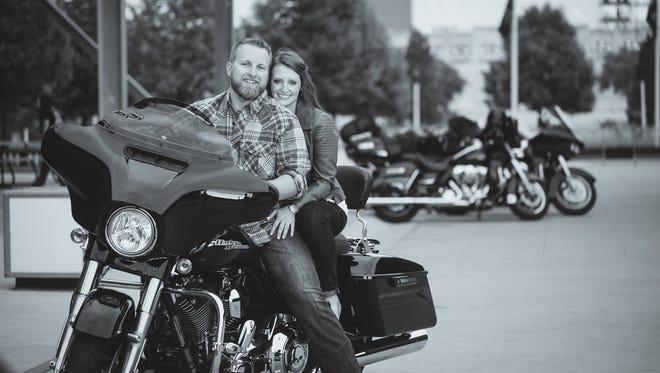 Derek Waterstreet and Katherine Klaubauf