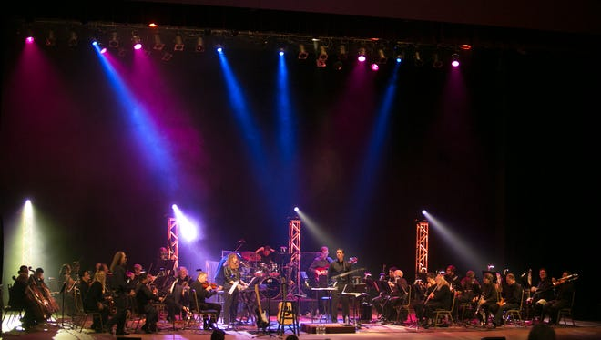 Rock music will collide with the symphony when The Music of Journey comes to the RiverView Theater on Saturday.