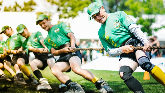 Irish Fest concludes Aug. 20 at Maier Festival Park. Tug of war competition takes place that day from noon to 4 p.m.