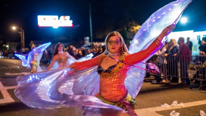 The Krewe of Rio hosts their annual Mardi Gras parade Saturday Jan. 30.