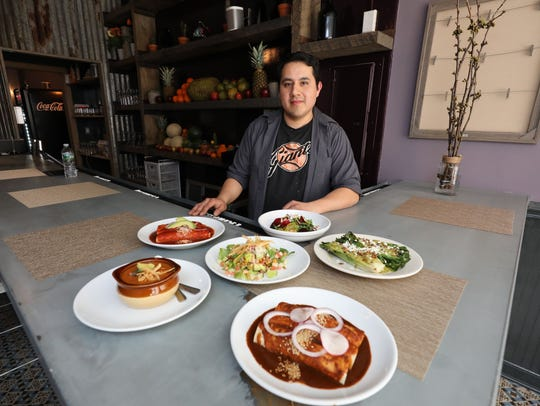 Luis Aguilera, the owner of Taco Shack on North Main