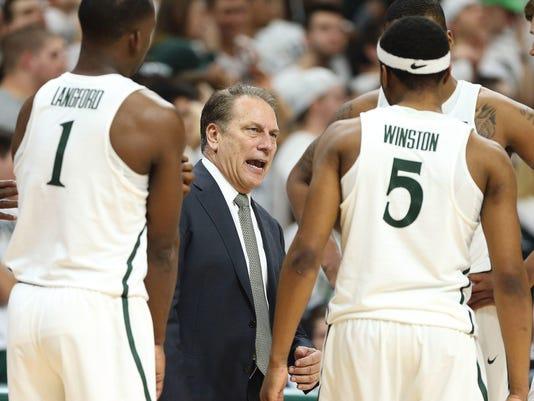 NCAA Basketball Wisconsin at Michigan State