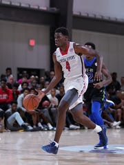 Florida forward Darius Days runs the fast break at