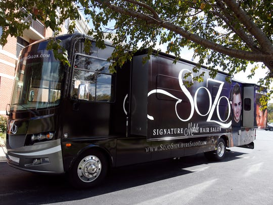 The SoZo Signature Mobile Salon in Newark.