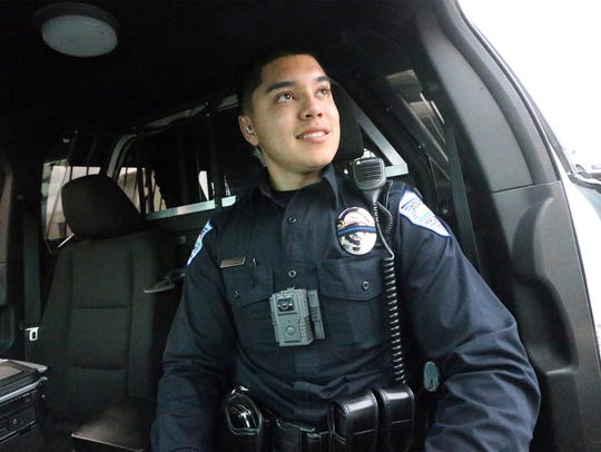 Horizon City Police Department officer Joshua Gonzalez
