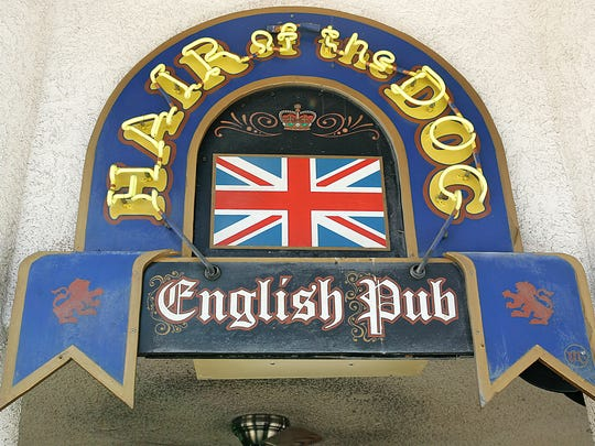 Hair of the Dog English Pub will relocate to a new space on Palm Canyon Drive.