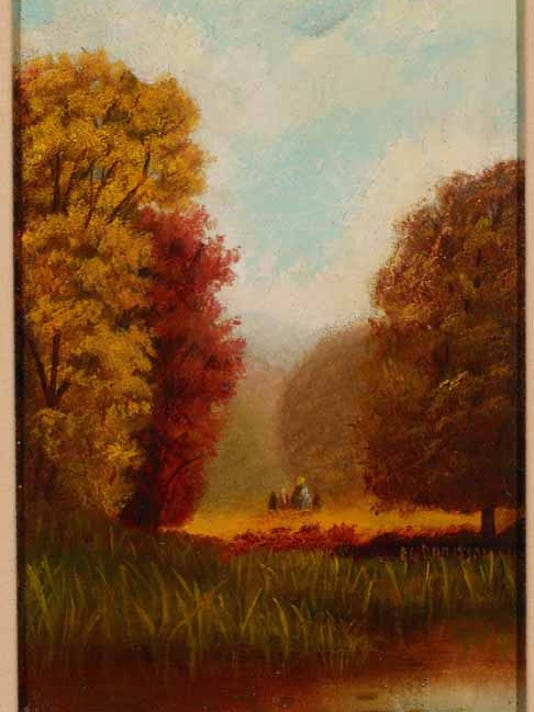 Landscape Autumn, circa 1865