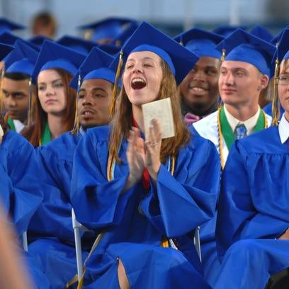 The 2015 Titusville High School graduation was held