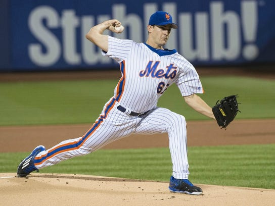 Mets pitcher Seth Lugo