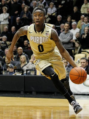 Former Purdue guard Jon Octeus benefitted from the graduate transfer rule.
