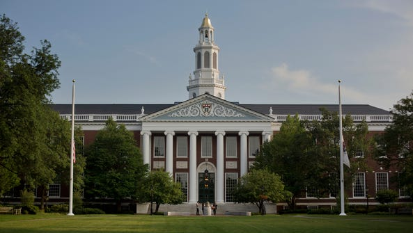 The Baker Library of the Harvard Business School on