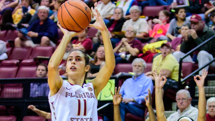 Maria Conde (11) is one of four Florida State players