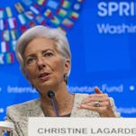 IMF chief: Trade clamp-downs 'self-inflicting wounds'