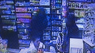 Two suspects robbed a convenience store in Flora Tuesday.