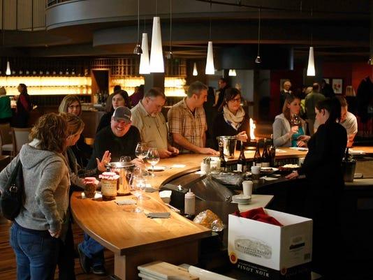 Willamette Valley Vineyard's new tasting room