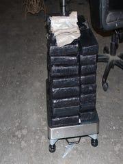 Around 125 lbs of cocaine found in a Winnebago on I-20 overnight.